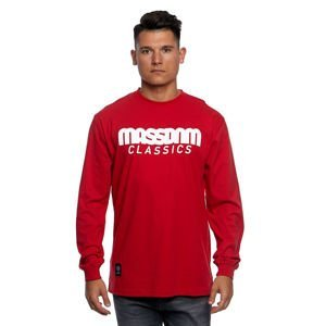Mass Denim Longsleeve Classics red
