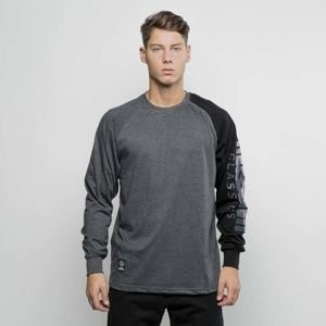 Mass Denim Longsleeve Section dark heather grey