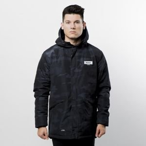 Mass Denim Plate Jacket Parka black camo