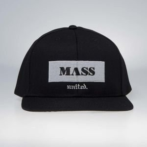 Mass Denim Plate Snapback black