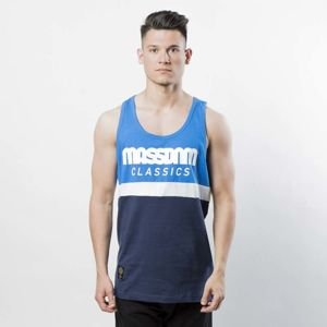 Mass Denim Respect Tank Top blue / navy