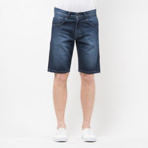 Mass Denim Shorts Jeans Dripline straight fit dark blue SS 2017
