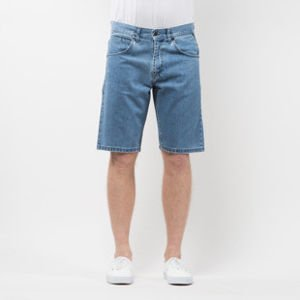 Mass Denim Shorts Jeans Dripline straight fit light blue SS 2017