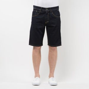 Mass Denim Shorts Jeans Flip straight fit rinse SS 2017