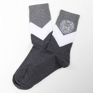 Mass Denim Socks Fang heather grey