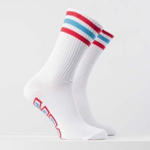 Mass Denim Socks Liberty white