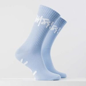 Mass Denim Socks Signature light blue