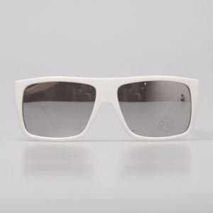Mass Denim Sunglasses Icon shine white / silver