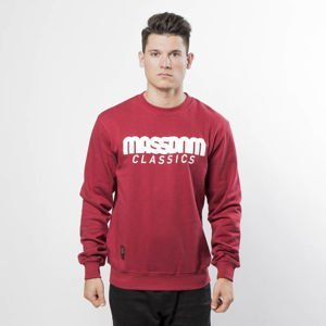 Mass Denim Sweatshirt Crewneck Classics claret