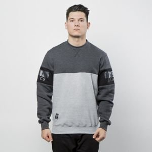 Mass Denim Sweatshirt Crewneck Division light heather grey