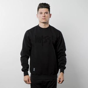 Mass Denim Sweatshirt Crewneck Edge black