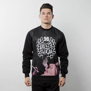 Mass Denim Sweatshirt Crewneck Real Chill black