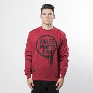 Mass Denim Sweatshirt Crewneck Return claret