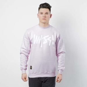 Mass Denim Sweatshirt Crewneck Signature light pink
