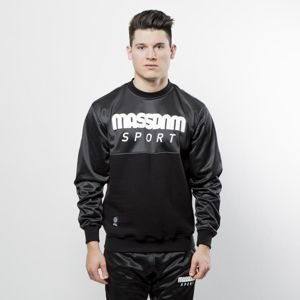 Mass Denim Sweatshirt Crewneck Stripe black QUICKSTRIKE