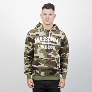 Mass Denim Sweatshirt Hoody Campus woodland camo
