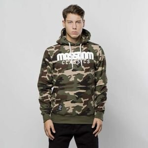 Mass Denim Sweatshirt Hoody Classics woodland camo