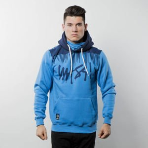Mass Denim Sweatshirt Hoody Drip Top blue