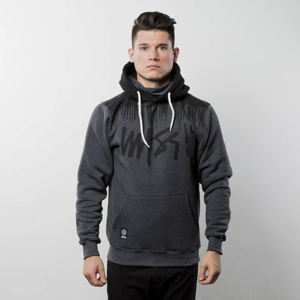 Mass Denim Sweatshirt Hoody Drip Top dark heather grey