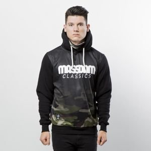 Mass Denim Sweatshirt Hoody Eclipse black