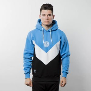 Mass Denim Sweatshirt Hoody Fang blue / black