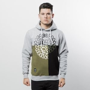 Mass Denim Sweatshirt Hoody Puzzle light heather grey