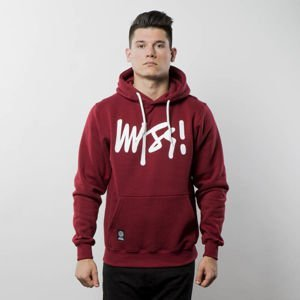 Mass Denim Sweatshirt Hoody Signature claret