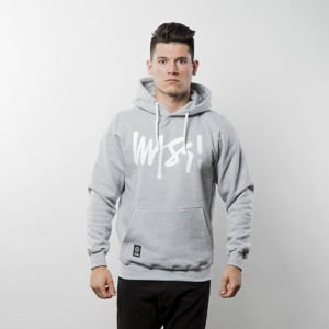 Mass Denim Sweatshirt Hoody Signature light heather grey