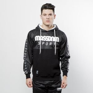 Mass Denim Sweatshirt Hoody Stripe black QUICKSTRIKE