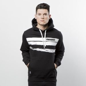 Mass Denim Sweatshirt Hoody Traces black