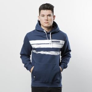 Mass Denim Sweatshirt Hoody Traces navy