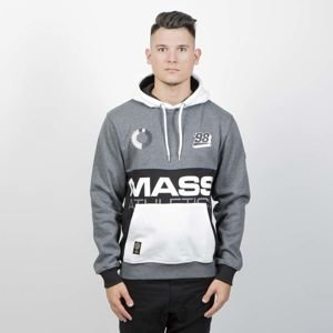 Mass Denim Sweatshirt Meeting Hoody dark heather grey