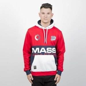 Mass Denim Sweatshirt Meeting Hoody red