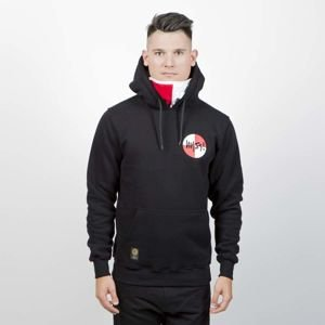 Mass Denim Sweatshirt Signature Flag Hoody black