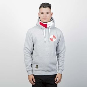 Mass Denim Sweatshirt Signature Flag Hoody light heather grey