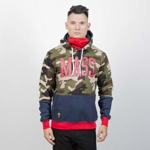 Mass Denim Sweatshirt Truman Hoody woodland camo
