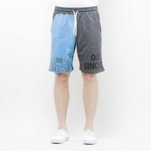 Mass Denim Sweatshorts Baller navy / dark heather grey SS 2017