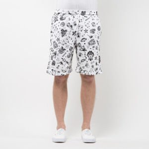 Mass Denim Sweatshorts Tattoo white SS 2017