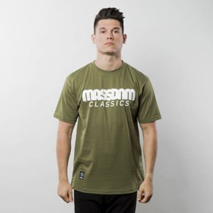 Mass Denim T-shirt Classics khaki