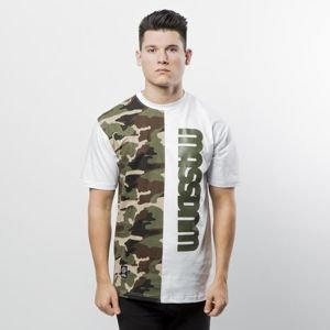 Mass Denim T-shirt Half Camo white
