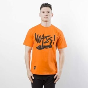 Mass Denim T-shirt Marker orange