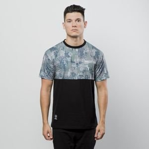 Mass Denim T-shirt Pixel black / multicolor