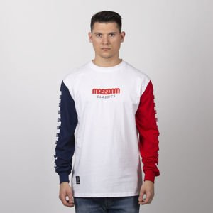 Mass Denim Triple Longsleeve white