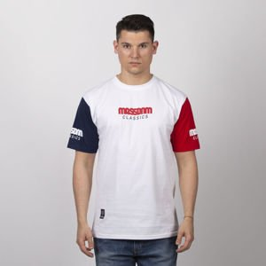 59a4cc86138890 Mass Denim Triple T-shirt white