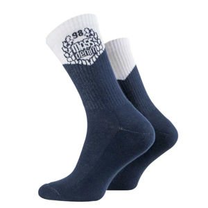 Mass Denim V Socks navy