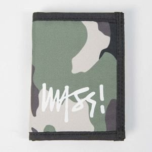 Mass Denim Wallet Signature woodland camo