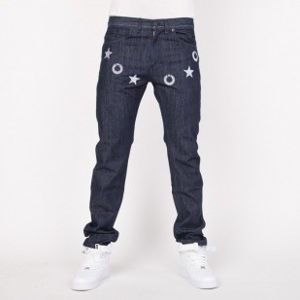 Mass Denim jeans Stars tapered fit FW14 blue