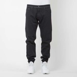 Mass Denim joggers pants Signature sneaker fit black