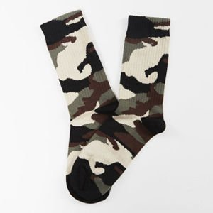 Mass Denim socks Woodland Quarter khaki SS 2017