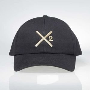 Mass Denim strapback Mass X-Cap black DWA SŁAWY